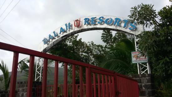 Balaji Resorts, Velhe Pune : main gate