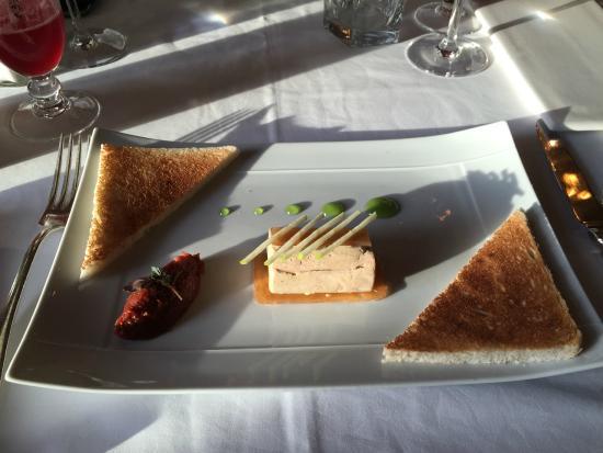 L'Etrier - Restaurant du Royal Barriere: foie gras