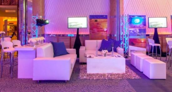 Furniture rental for events in Malaga - Picture of Experience Box ...
