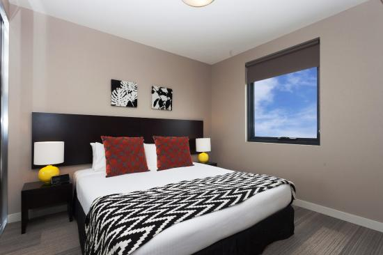 Quest Mascot Serviced Apartments: One Bedroom Apartment - Bedroom