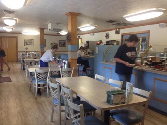 Duncannon, Pensylwania: Interior dining room