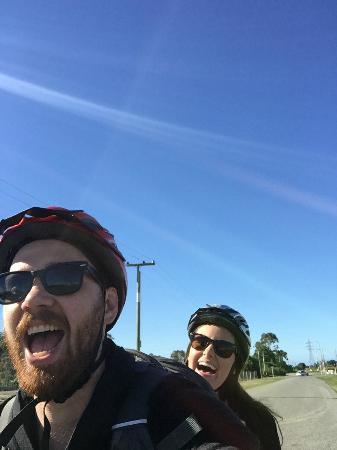 Bike 2 Wine : Tandem selfies!