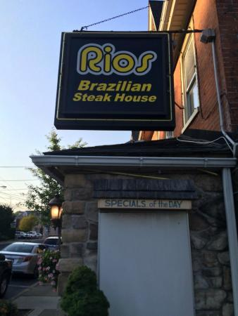Rios Brazilian Steak House: A great find in Nazareth