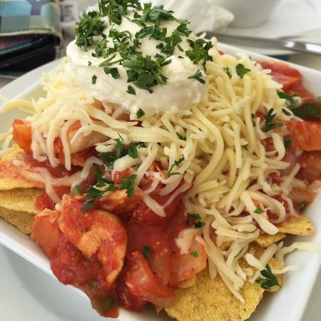 Larkstone Family Restaurant and Leisure Park : Spicey nachos and chicken