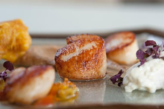 Swinton, UK: scallops