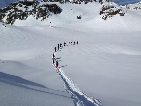 Arvier, Italien: ski tours