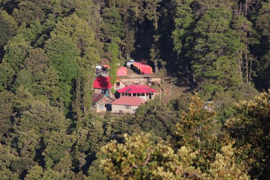 Agyaat Vaas- The Himalayan Retreat: Agyaat Vaas from Kairna Peak