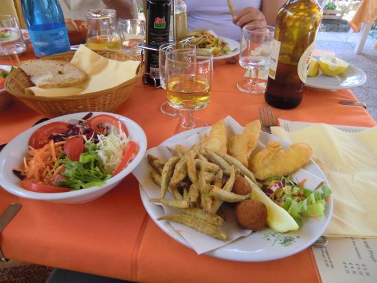 Hotel Da Sauro: Buon appetito!