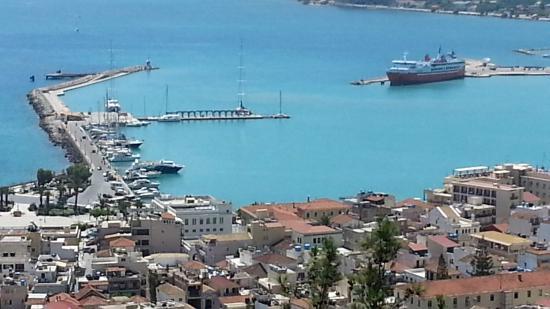 Hotel Letsos: Zakynstos přístav