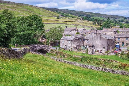 Thwaite in Swaledale Yorkshire Dales National Park Picture of