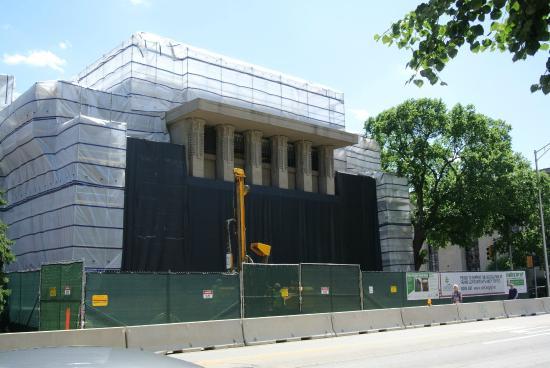 Frank Lloyd Wright's Unity Temple: under renovation