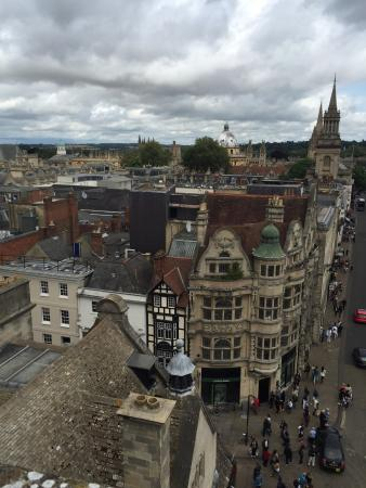 Carfax Tower: View from the top.