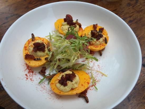 Cafe Ronda : Devilled eggs