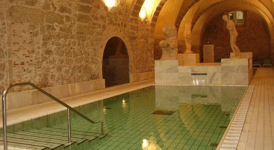Banos de Montemayor, Spain: Piscina termal romana