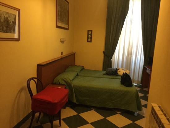 Hotel Giorgina: Camera con bagno privato