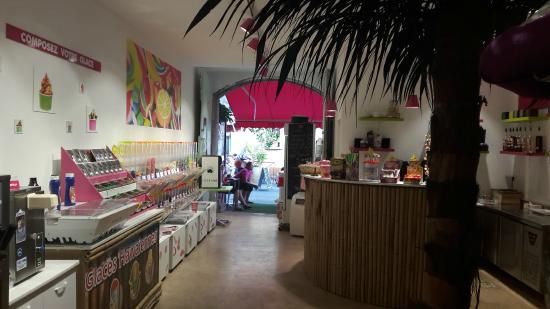 P'tite Pause chez les Copains - Cafe Glacier