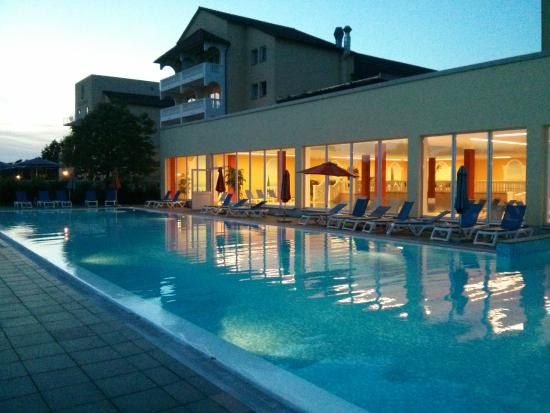 MARC AUREL Spa & Golf Resort: The 50m Olympic size pool.