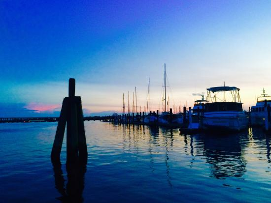 Lookout Lady Scenic River Tours of New Bern-Day Boat Tours: Lovely sunset cruise.