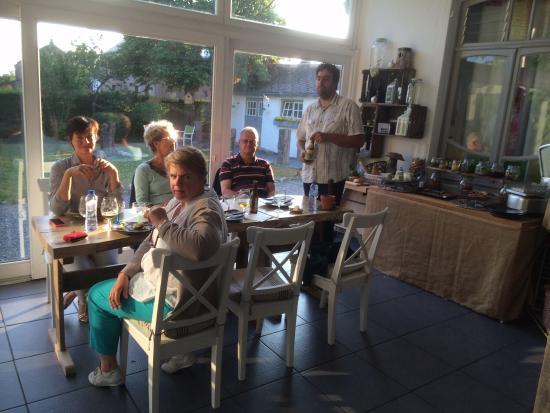 L 39 assiette ardennaise dans la v randa photo de les - Chambre dans veranda ...