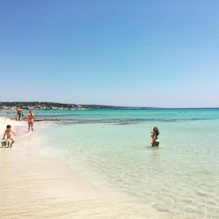Pescoluse, Itália: Mare e spiaggia