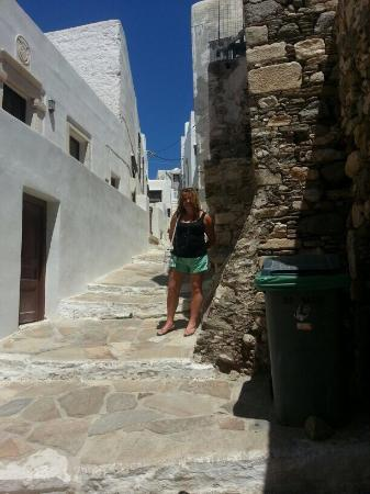 Naxos Town, Greece: Narrow streets