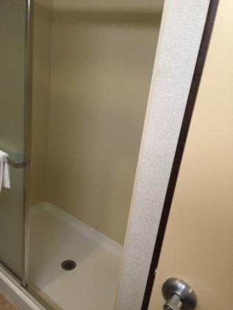 Hampton Inn Garden City: Walk-in shower