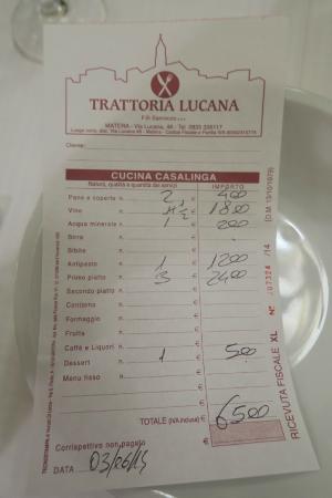 Trattoria Lucana: Addition