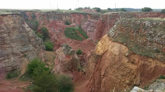 Spinazzola, Italie : Cava di Bauxite