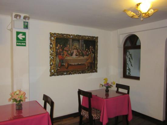 Cuadro-Comedor: fotografía de Las Palmeras Inn, Trujillo - TripAdvisor