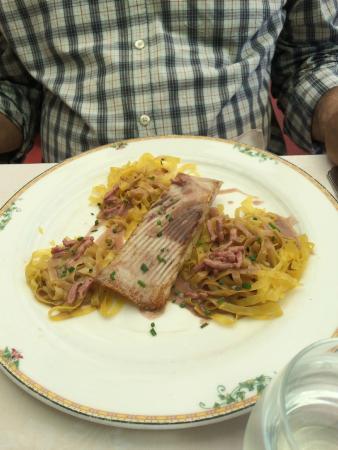 Trilogie dieppoise au beurre de soupe de poissons photo - Restaurant seine port ...
