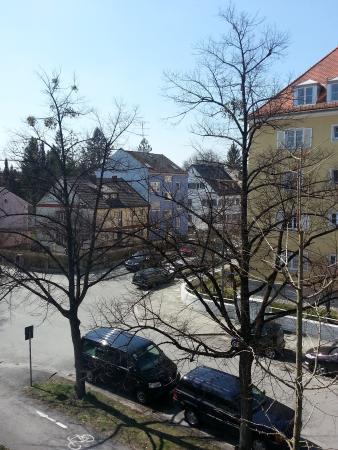 Hotel Kriemhild : Вид из окна отеля