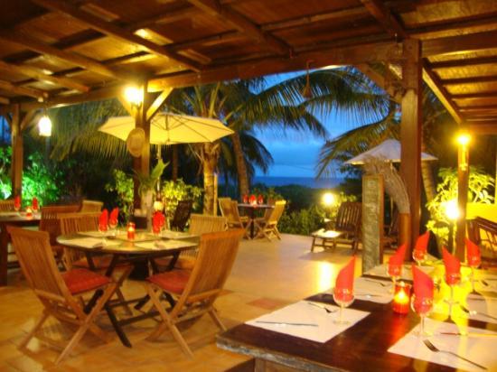 Le M Hotel Marie Galante : ristorante hotel