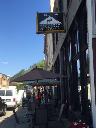 The 1313 Club Historic Saloon and Grill: Exterior