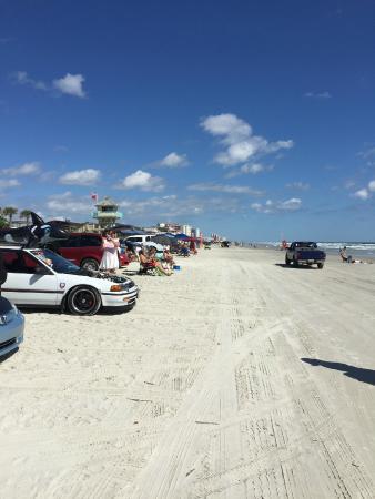 Oceania Beach Club : parked on the beach