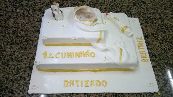 bolo batizado   Picture of Pastelaria Requinte E Tentacoes, Silves