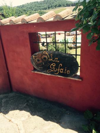 B&B  La Gufaia : Molto carina la struttura 😀