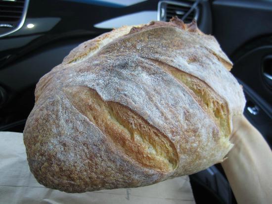 The Lake Village Bakery: The Sourdough Roll.