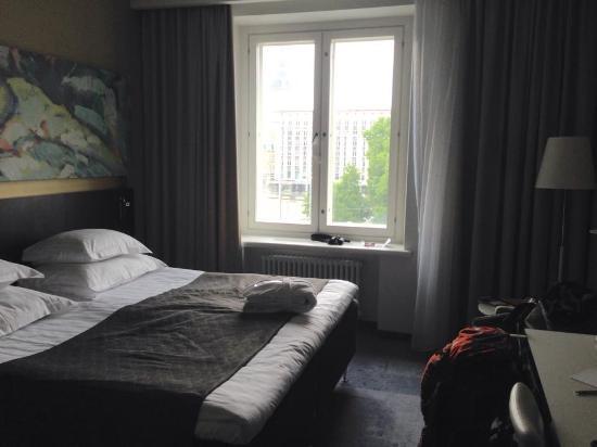 Art Hotel: view fra mit værelse-