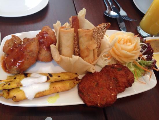 Tiien Thai: Mixed starter plate - yummy