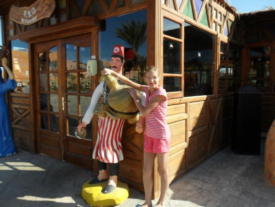 Caribbean World Resorts: возле восточного ресторана