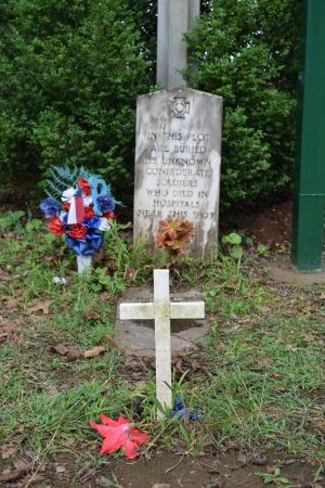 Silverdale Confederate Cemetery: unmarked grave