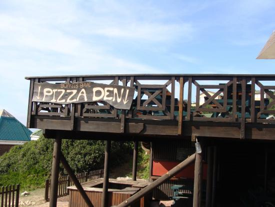 Knysna, Afrique du Sud : Pizza Den -- Buffalo Bay.