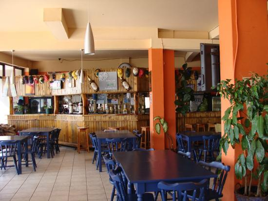 Knysna, Afrique du Sud : Restaurant at Buffalo Bay.