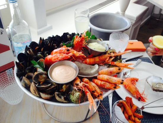 GB1 Seafood Restaurant and Bar: prawn platter