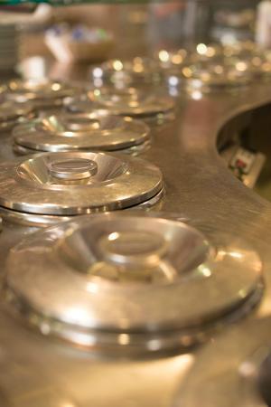 Gelateria Carletto: i gelati sono tenuti professionalmente in contenitori che li mantengono in qualità