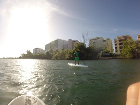 Condado Lagoon : De los mejores lugares para hacer paddle seguro y tranquilo.