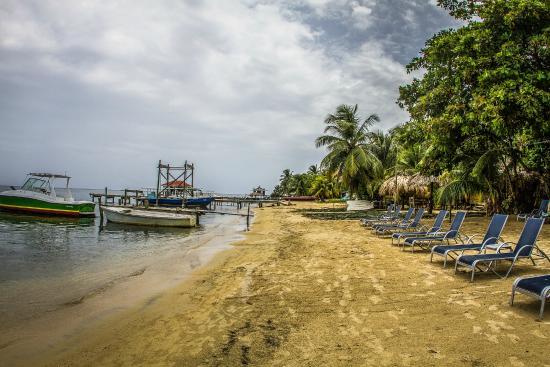 Ronny's Barefeet Restaurant & Bar: Beach