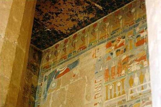 Deir El Bahri-Funerary Temple of Hatshepsut - Foto van ...