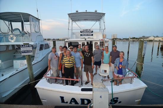 Big one picture of captain mike charters panama city for Best deep sea fishing panama city beach