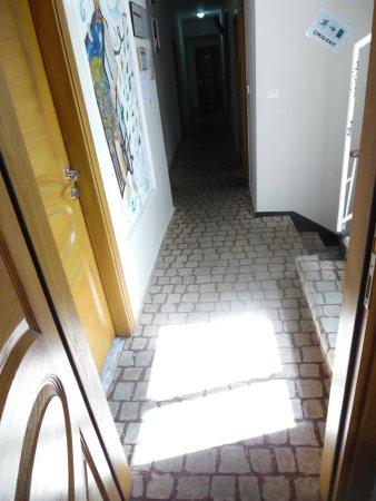Ideal Pension Hostel : hallway